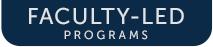 UMW Faculty-Led Programs