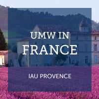 UMW in France | IAU Provence