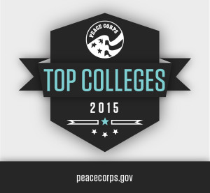 Peace Corps Top Colleges Banner